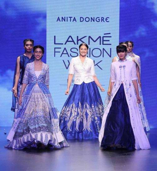 Anita Dongre-ANITA DONGRE AT LAKME FASHION WEEK - AW16 - LOOK 19