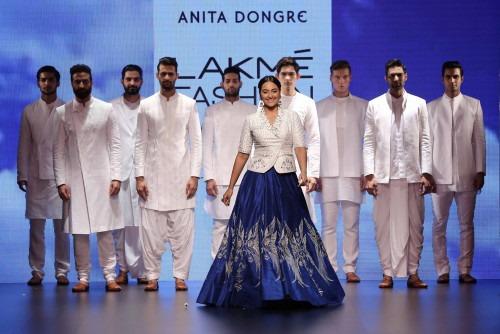 Anita Dongre- ANITA DONGRE AT LAKME FASHION WEEK - AW16 - LOOK 33