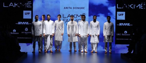 Anita Dongre- ANITA DONGRE AT LAKME FASHION WEEK - AW16 - LOOK 40