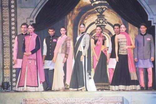 Indian Fashion Designer Manish Malhotra's Glamorous Show