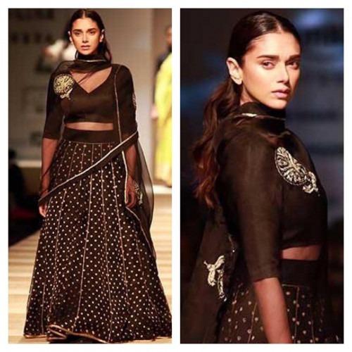 Aditi Rao Hydari Opens Amazon India Fashion Week in Style