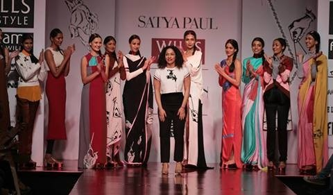 Indian Designers Displayed Magnificent Collections at WIFW A/W 2014