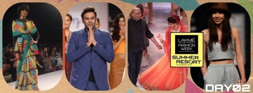 Inspirational Collections on day 2 of Lakme Fashion Show