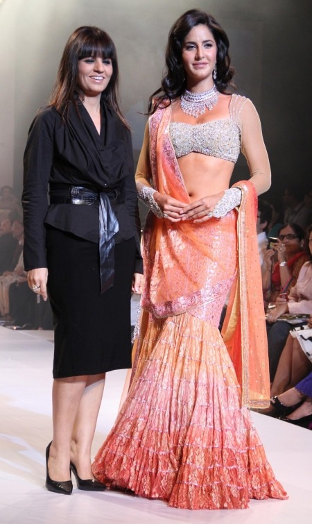 Indian fashion designer Neeta Lulla has Returned to the Small Screen