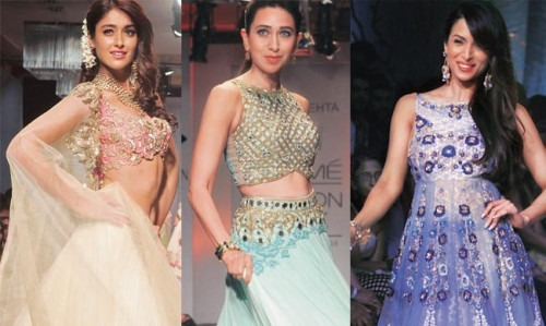 The Stars of the Lakme Fashion Show 2014