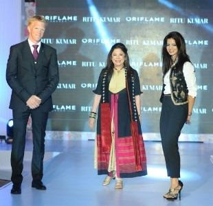 Indian designer Ritu Kumar To Work With Oriflame India