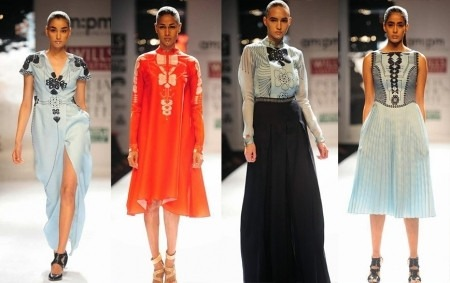 AM PM Indian designers new collection of Indian clothing 2014