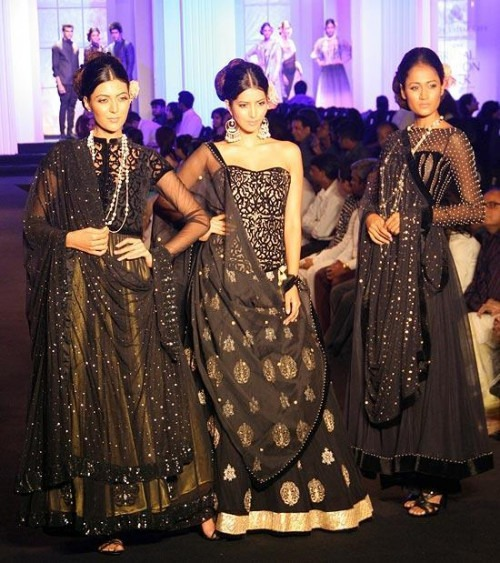 "Indian Fashion Designers Meera Muzaffar Ali's ""Jamazeb"" Collection"