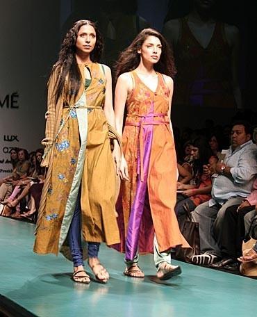 Kiran Uttam Ghosh at Wills Fashion Week