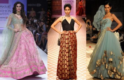 Designers for modern Indian bride - Designer clothes on the ramp