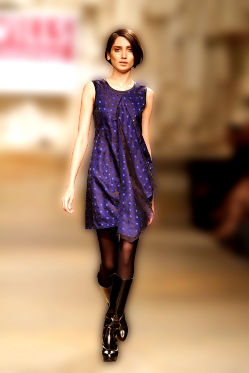 Indian fashion designer Tarun Tahiliani collection at Lakme Fashion Week Show