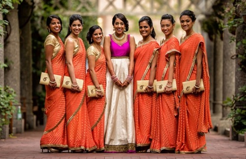 5 Gorgeous Indian Bridesmaid Dresses