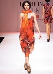 Nachiket Barve's layered dress