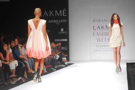 Lakme Fashion Week in Mumbai