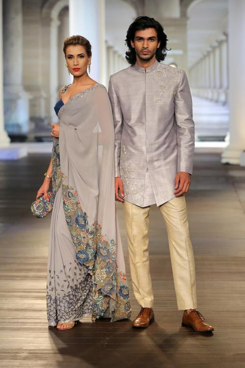 4c9b721fa0913 Shyamal & Bhumika - India Couture Week 2018 - 4 | Shyamal and ...