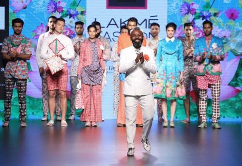 Ajay Kumar  at Lakme Fashion Week AW16 - Look 1