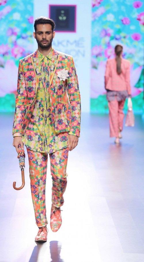 Ajay Kumar  at Lakme Fashion Week AW16 - Look 11