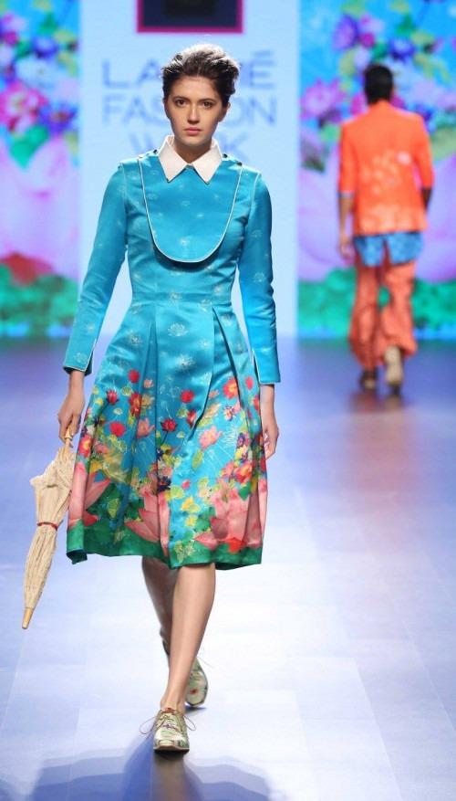 Ajay Kumar  at Lakme Fashion Week AW16 - Look 12