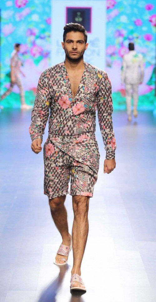 Ajay Kumar  at Lakme Fashion Week AW16 - Look 14
