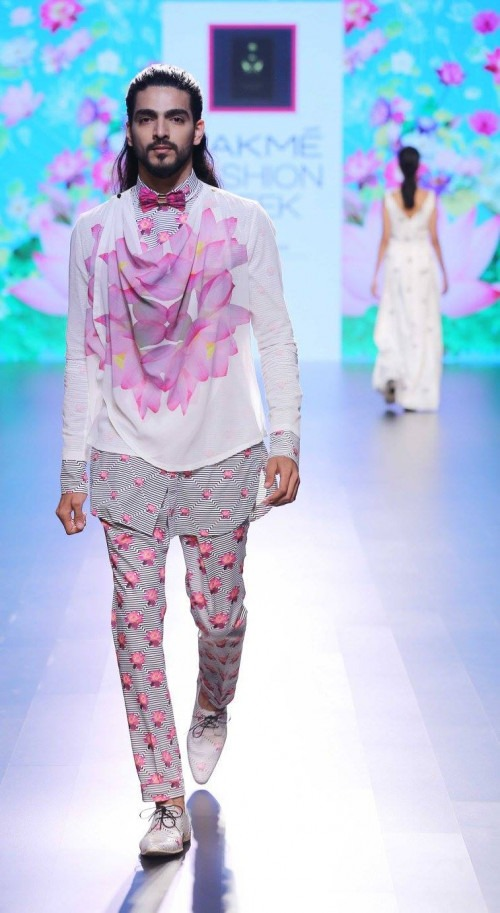 Ajay Kumar  at Lakme Fashion Week AW16 - Look 15