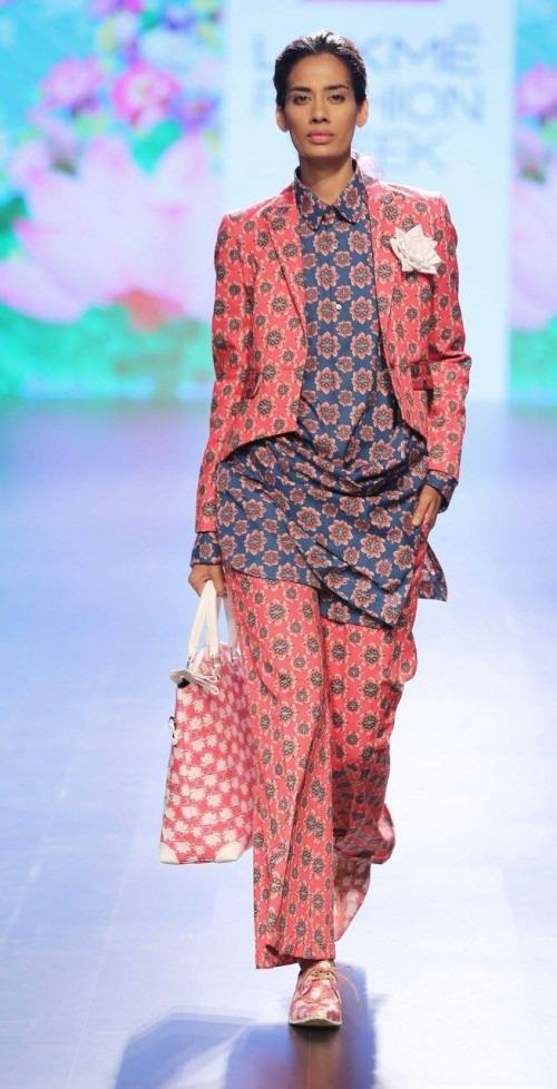 Ajay Kumar  at Lakme Fashion Week AW16 - Look 2