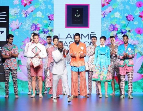 Ajay Kumar  at Lakme Fashion Week AW16 - Look 5