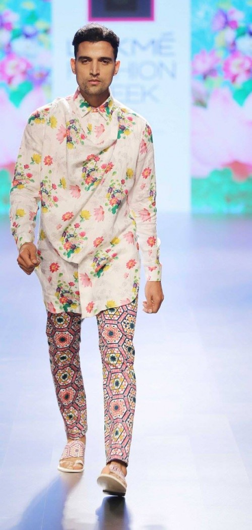 Ajay Kumar  at Lakme Fashion Week AW16 - Look 6