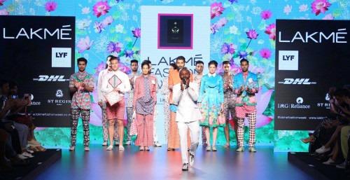 Ajay Kumar  at Lakme Fashion Week AW16 - Look 9