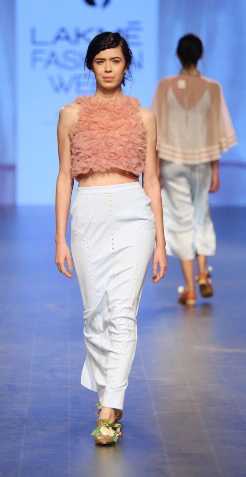Archana Rao at Lakme Fashion Week AW16 - Look 12
