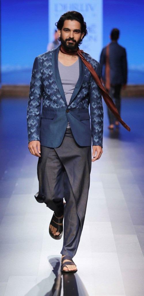 Dhruv Kapur at Lakme Fashion Week AW16 - Look 1