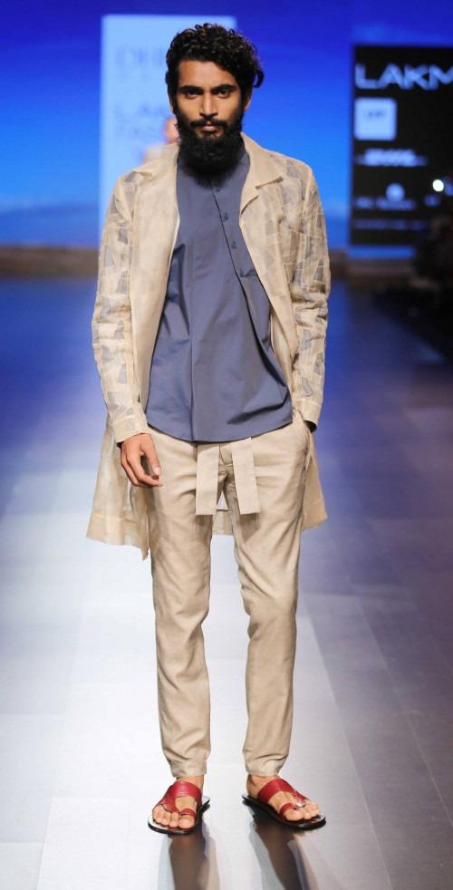 Dhruv Kapur at Lakme Fashion Week AW16 - Look 6