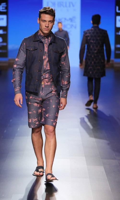 Dhruv Kapur at Lakme Fashion Week AW16 - Look 9