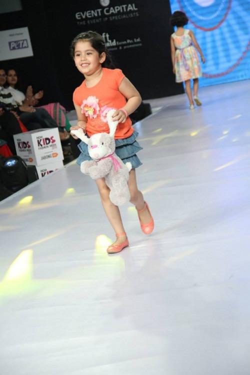 Kamakshi Kaul at India Kids Fashion Week AW15 - Look 138