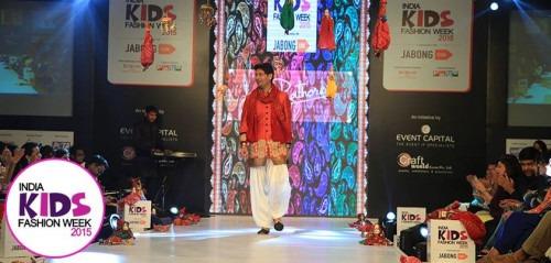 Kirti Rathore at India Kids Fashion Week AW15 - Look 128
