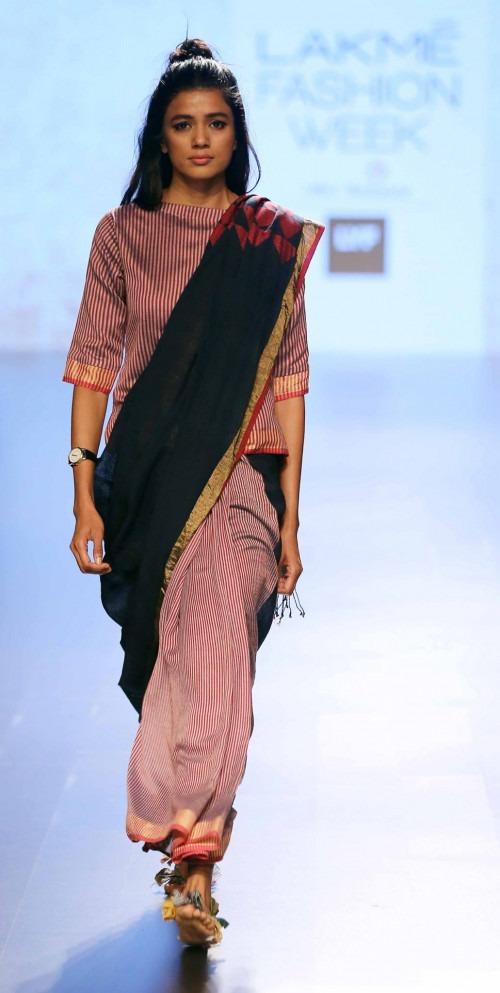 Paromita Banerjee at Lakme Fashion Week AW16 - Look 2