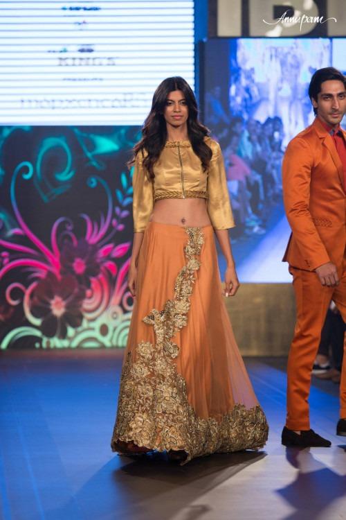 Riddi and Siddhi Mapxencar at India Beach Fashion Week AW15 - Look35