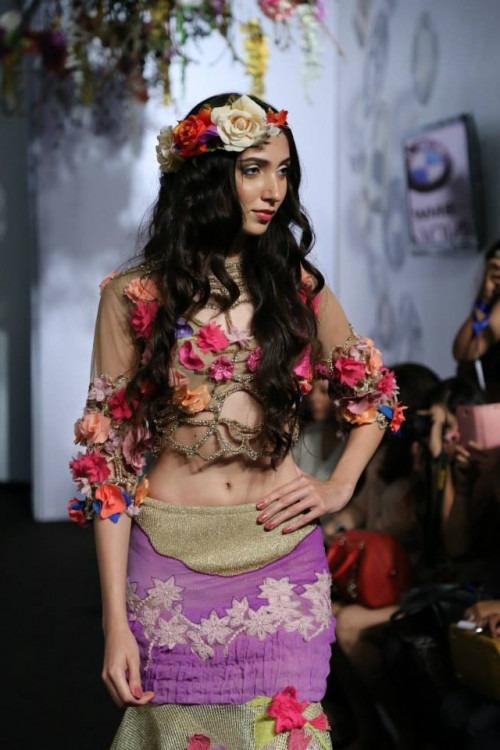 Rina Dhaka at India Bridal Fashion Week AW15 - Look12