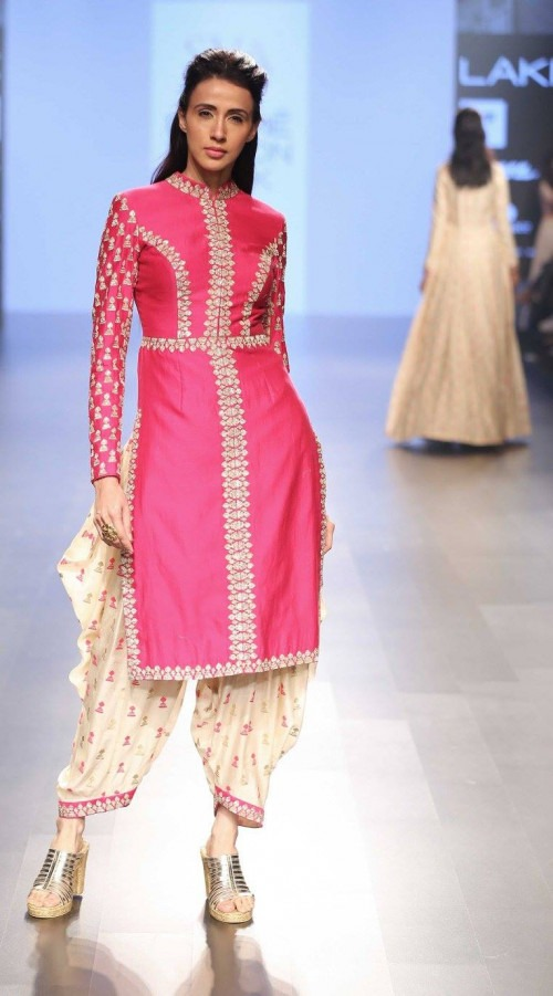 Sonam and Paras Modi at Lakme Fashion Week AW16 - Look 20