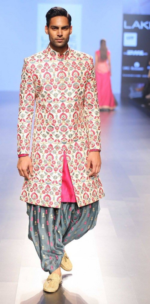 Sonam and Paras Modi at Lakme Fashion Week AW16 - Look 22