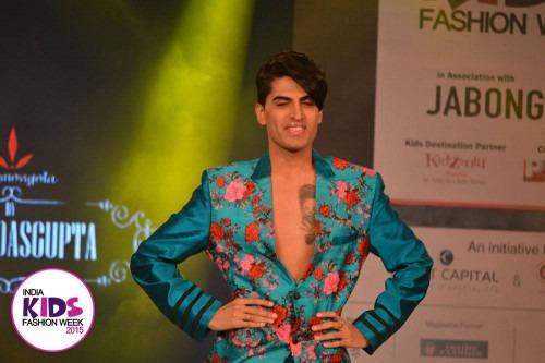 Sumit das Gupta at India Kids Fashion Week AW15 - Look 125
