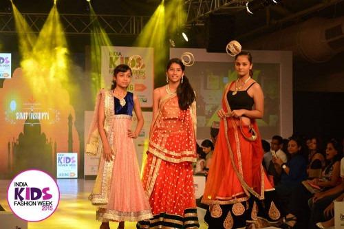 Sumit das Gupta at India Kids Fashion Week AW15 - Look 98