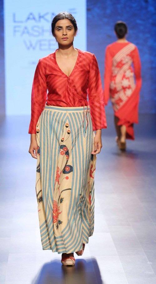 Swati Vijaivargie at Lakme Fashion Week AW16 - Look 4
