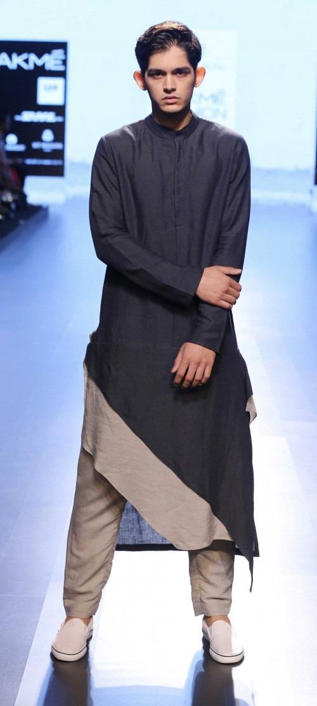 Ujjawal Dubey at Lakme Fashion Week AW16 - Look 10