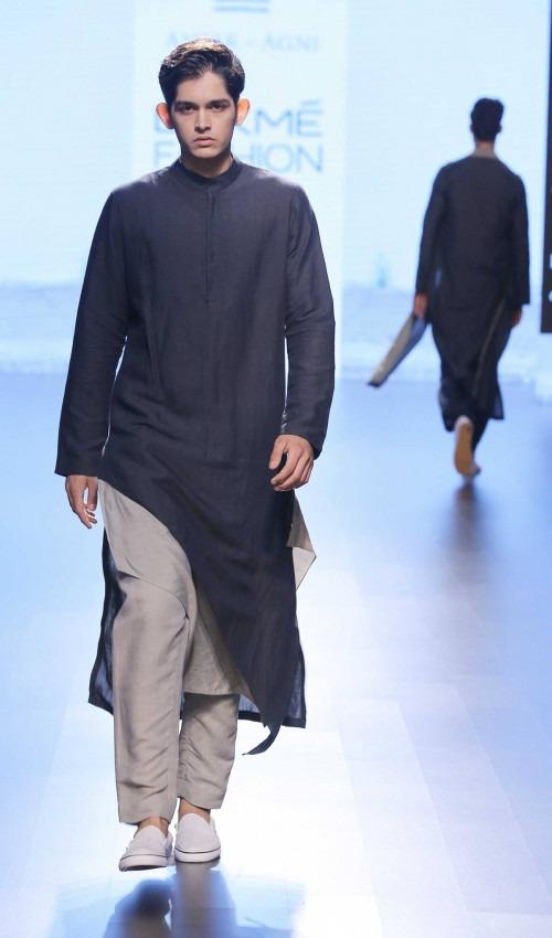 Ujjawal Dubey at Lakme Fashion Week AW16 - Look 2