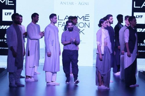 Ujjawal Dubey at Lakme Fashion Week AW16 - Look 3