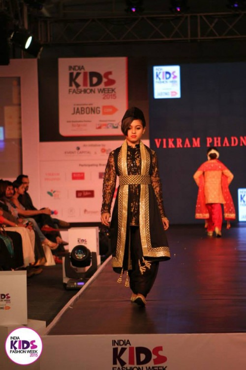 Vikram Phadnis at India Kids Fashion Week AW15 - Look 33