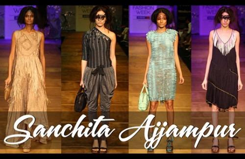 Sanchita Ajjampur at Lakme Fashion Week 2012