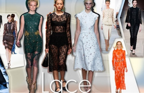 Spring Summer 2013 Trends - Lace - Stylish Thoughts