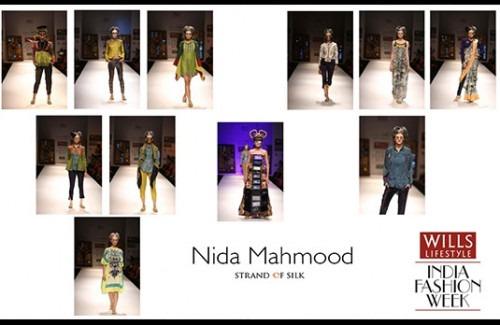 Nida Mahmood at Wills Lifestyle India Fashion Week Autumn Winter 13 - Stylish Thoughts