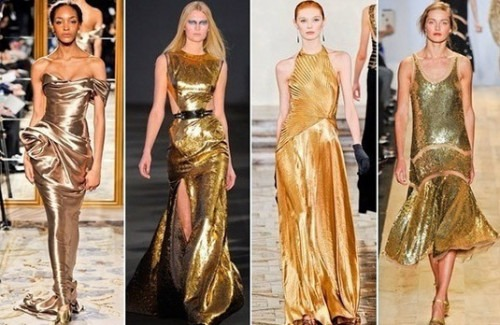 Spring Summer 2013 Trends - Golden - Stylish Thoughts